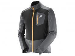 Pánská bunda Salomon RS Softshell JKT M Forged Iron / Black