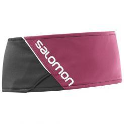 Dámská čelenka Salomon RS Headband Black / Beet Red